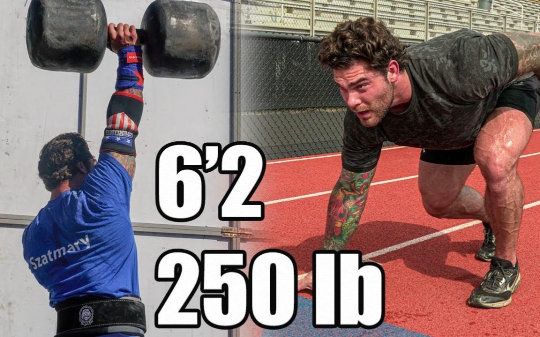Can a Strongman Champion Run a Sub 5 Minute Mile?