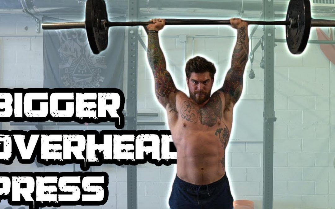 5 Tips To Get a BIGGER Overhead Press